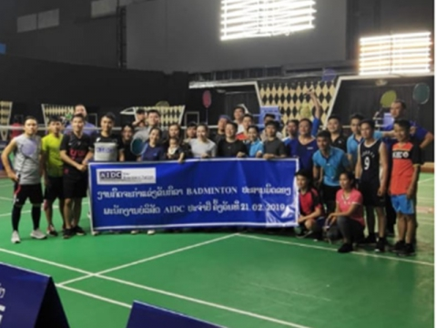 badminton competition on 21 feb 19